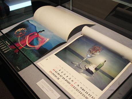 アートディレクター村越襄さんが手掛けたミキモトのカレンダー