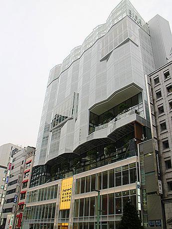 2014年秋の開業に向けて工事が進む「KIRARITO GINZA」