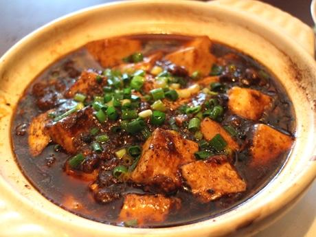 赤坂店でも人気があったランチのマーボー豆腐(1,080円)