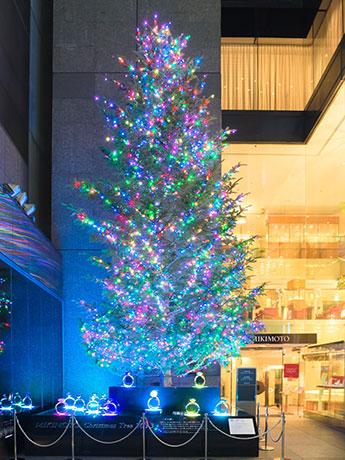 2013年のジャンボクリスマスツリー