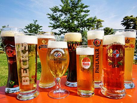 昨年、オクトーバーフェストで提供されたビール