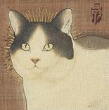 銀座で「猫れくしょん」 猫を扱った和本や絵画20点