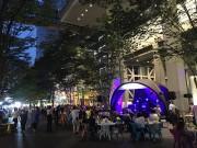 東京国際フォーラムで「ゆかたでないと」 盆踊りや縁日など