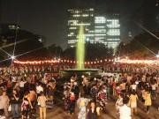 日比谷公園で飛び入り歓迎の「丸の内音頭大盆踊り大会」 4万人の来場見込む