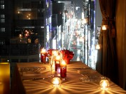 京橋の「インスタ映え」するフレンチレストランで「キャンドルナイト」