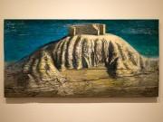 京橋のギャラリー椿で小林健二さん個展 絵画や立体作品など68点