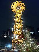 日比谷公園で「東京クリスマスマーケット2017」 クリスマスピラミッドも