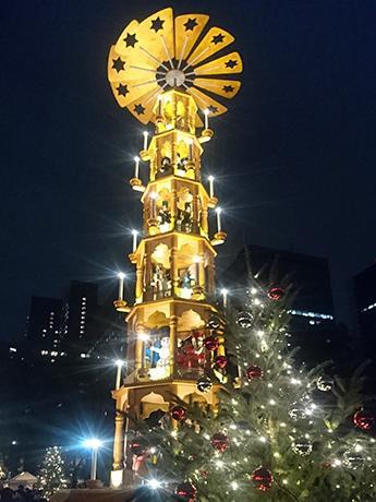昨年の「東京クリスマスマーケット」の様子