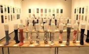 銀座で「つつの靴下」展 167人がデザインしたオリジナル靴下を展示販売