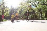 東京の街を自転車で走るチャリティーイベント「バイシクルライド2018イン東京」