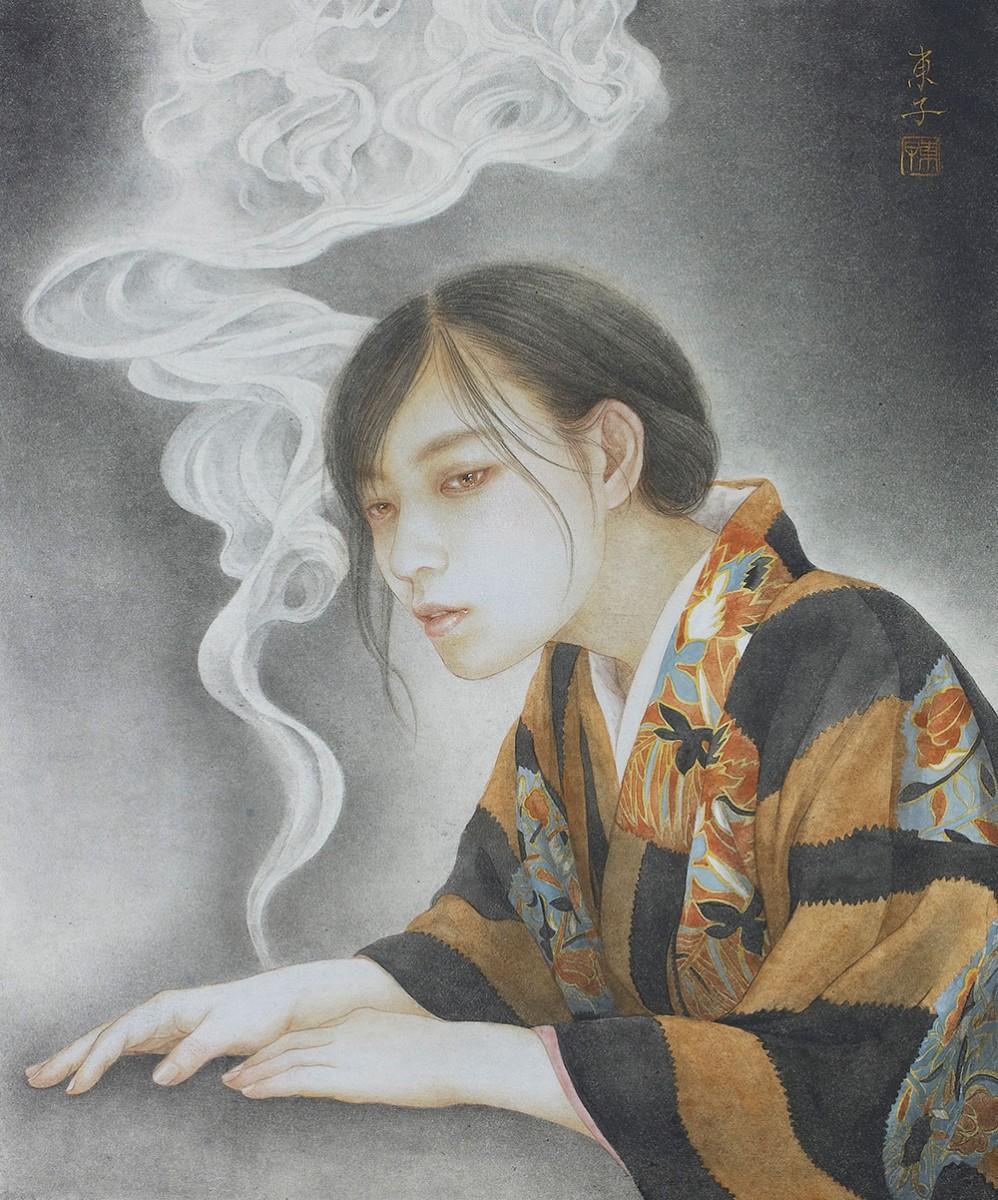 岡本東子さんの作品「こころゆるび」