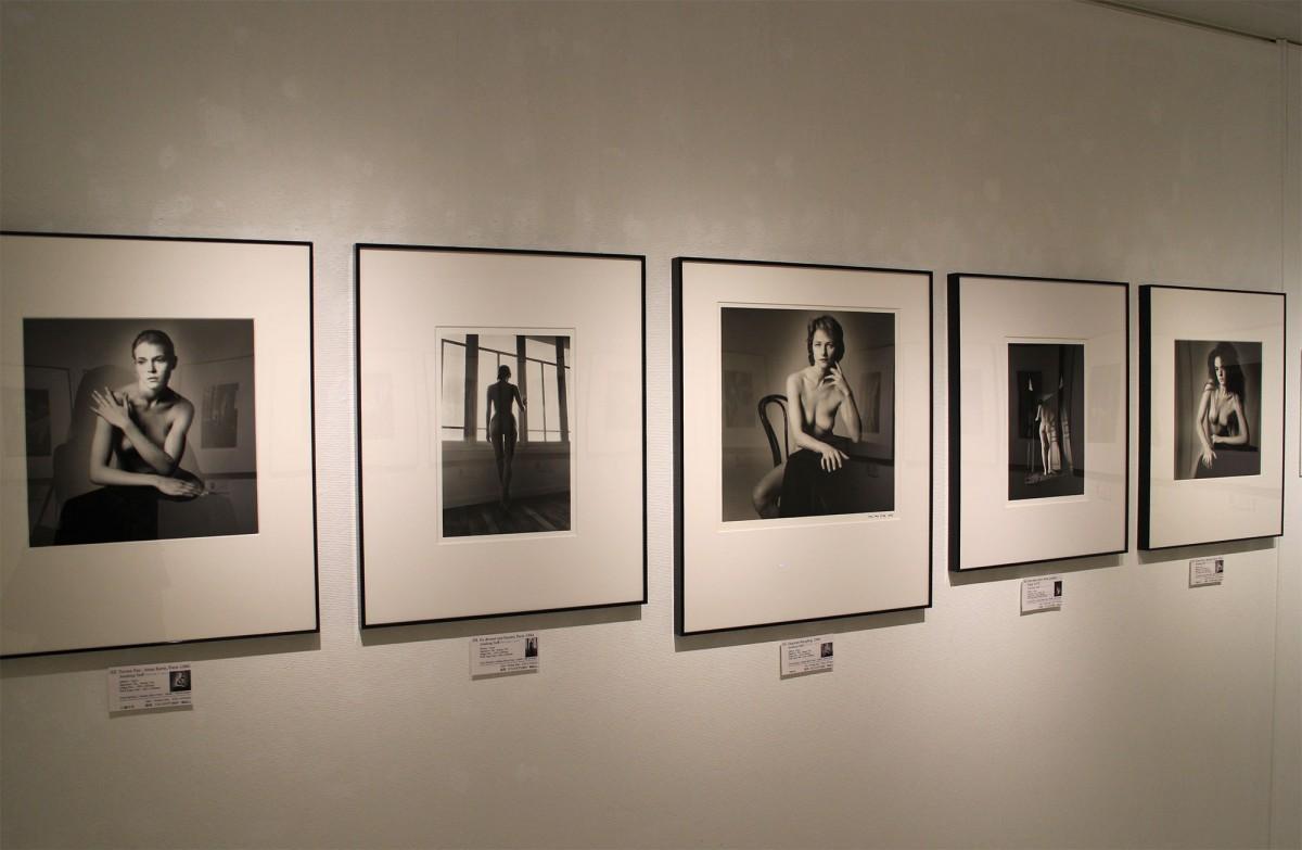 「ジャンルー・シーフ写真展『Best works』」の展示風景