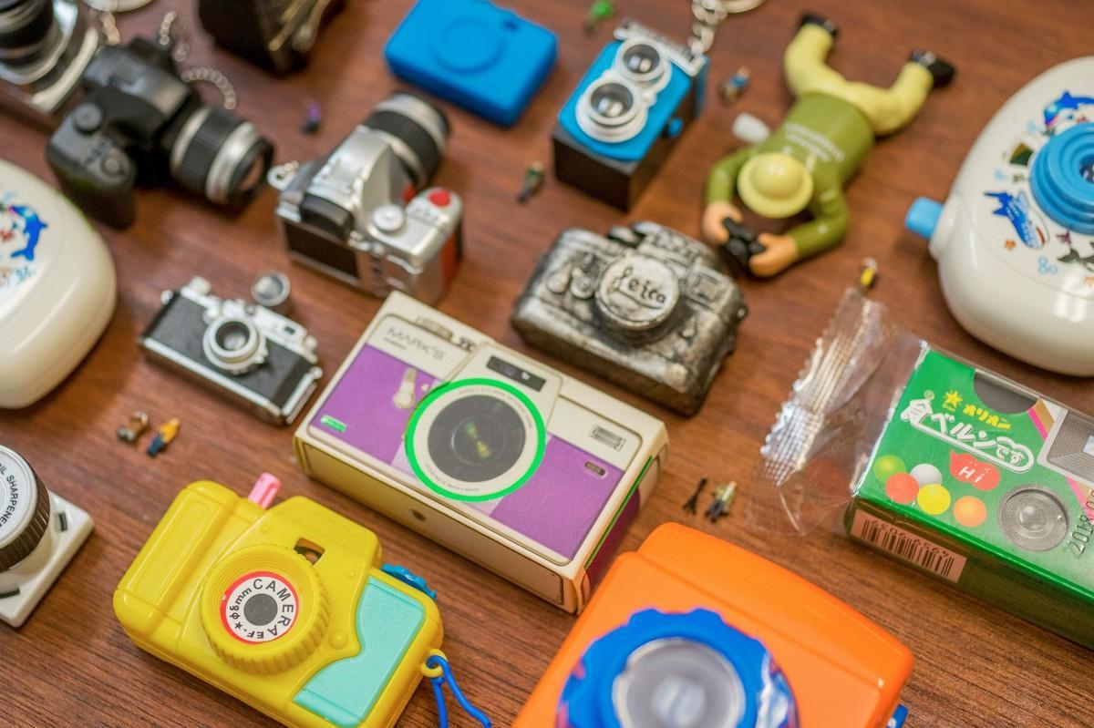 「カメラのおもちゃ」