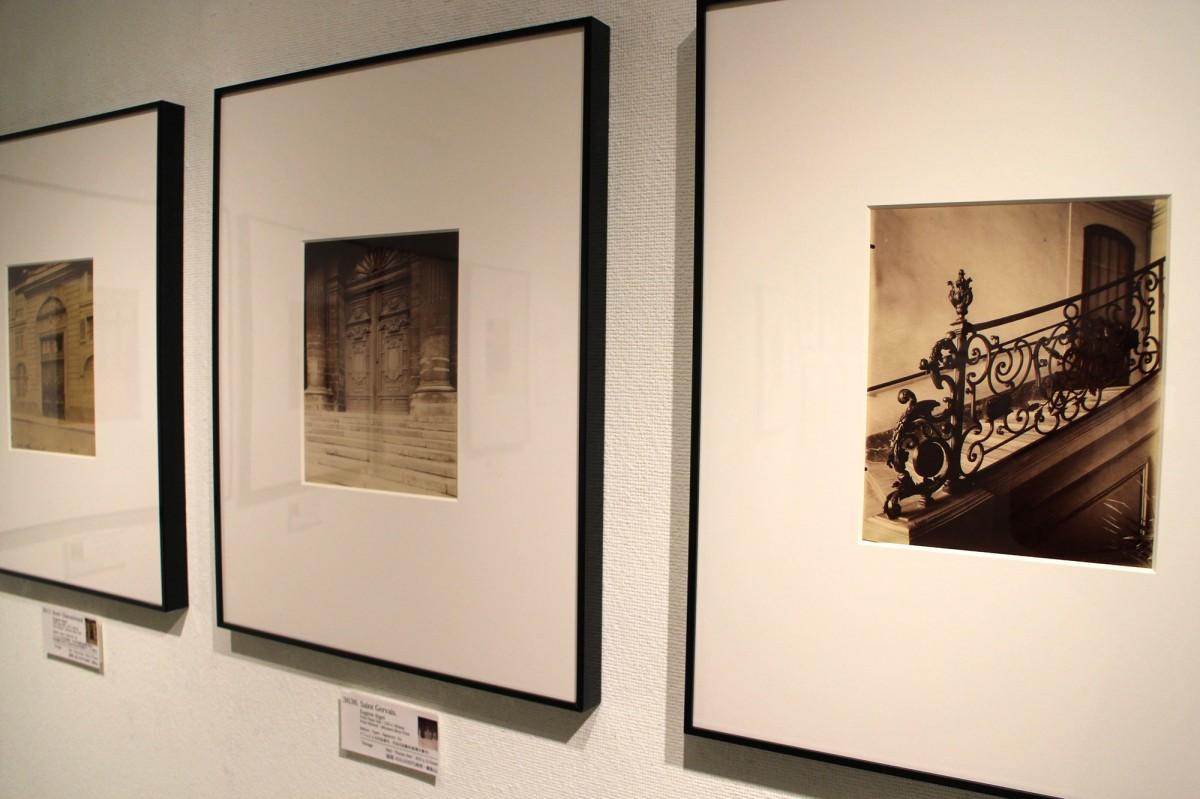「ウジェーヌ・アジェ写真展『シュルレアリスム』」の展示風景