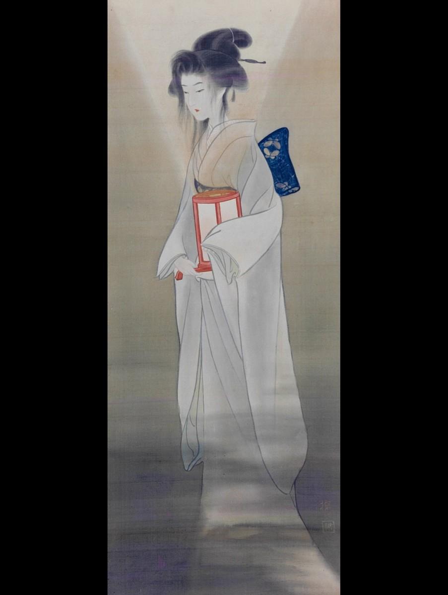 「牡丹灯篭」(作者不詳)金性寺蔵