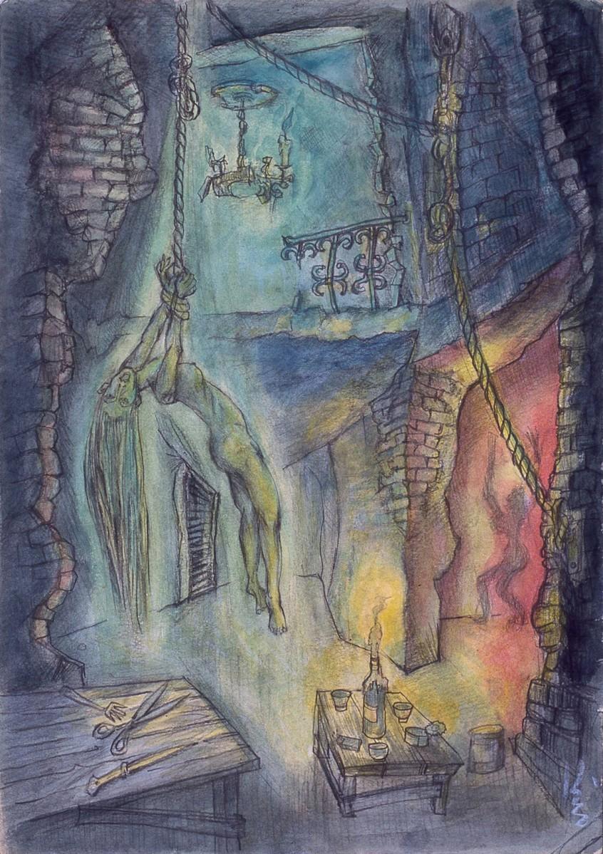 「肉体の門」より「リンチの場」(1972年ごろ)
