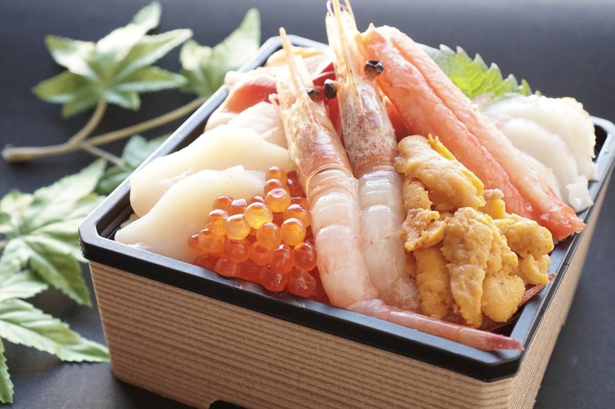 「豪華!北海8種盛り海鮮丼」