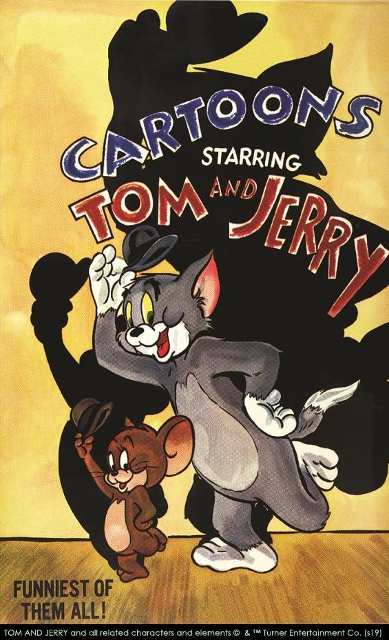 「誕生80周年 トムとジェリー展 カートゥーンの天才コンビ ハンナ=バーベラ」のメインビジュアル