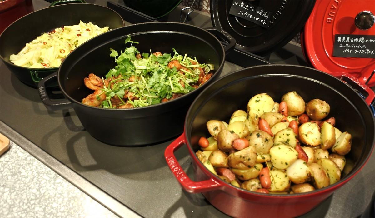 「グランイート銀座」で提供する料理