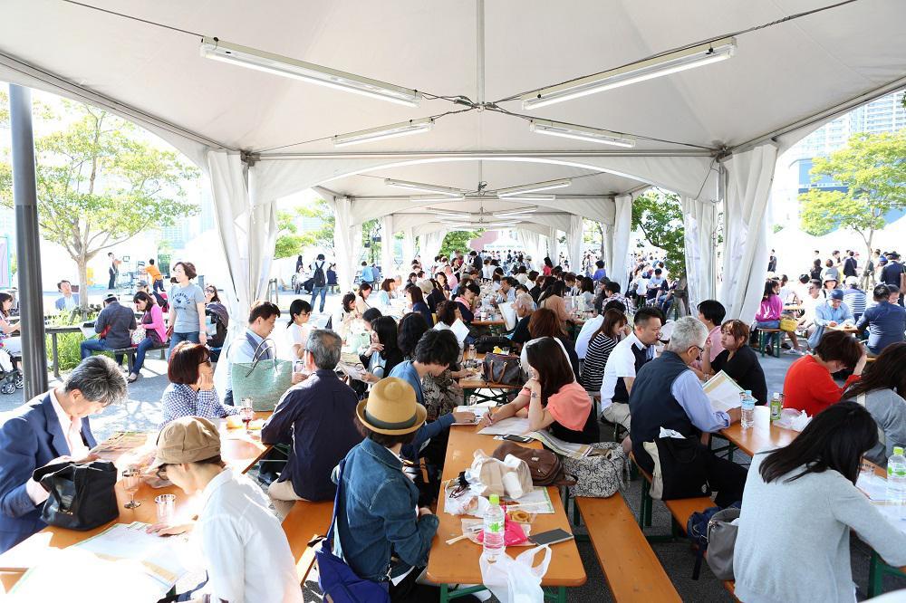 「日本ワイン祭り」、過去の開催風景