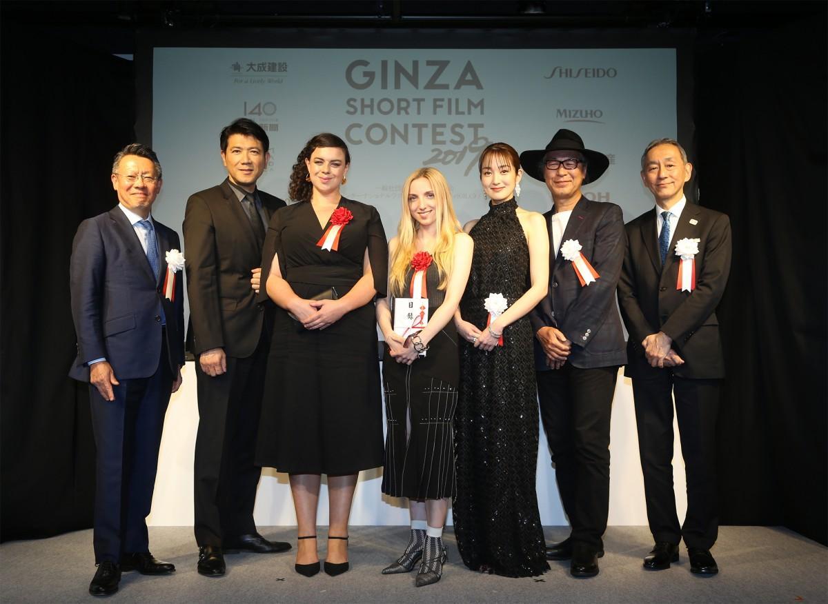 「GINZA SHORT FILM CONTEST 2019」の授賞式の様子