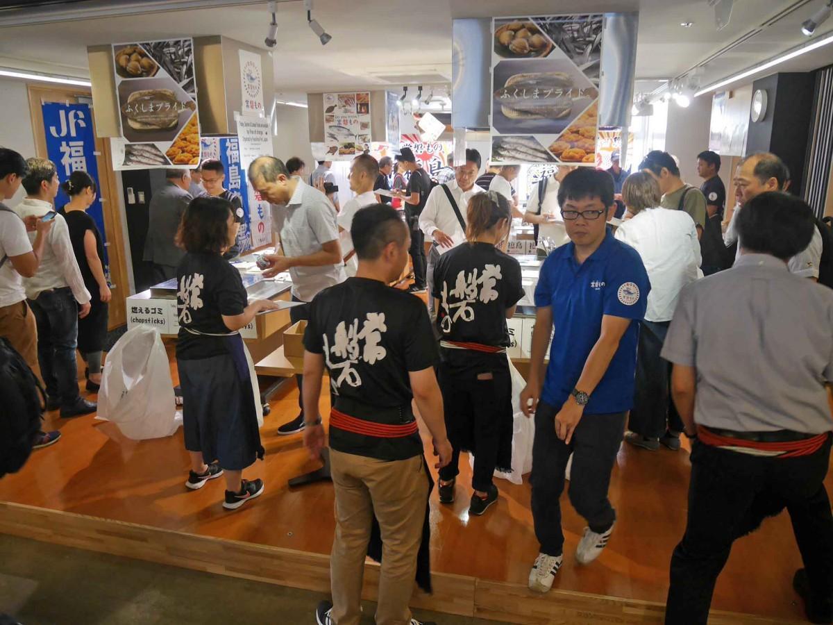 「福島県漁業の今と試食会」の過去の開催の様子