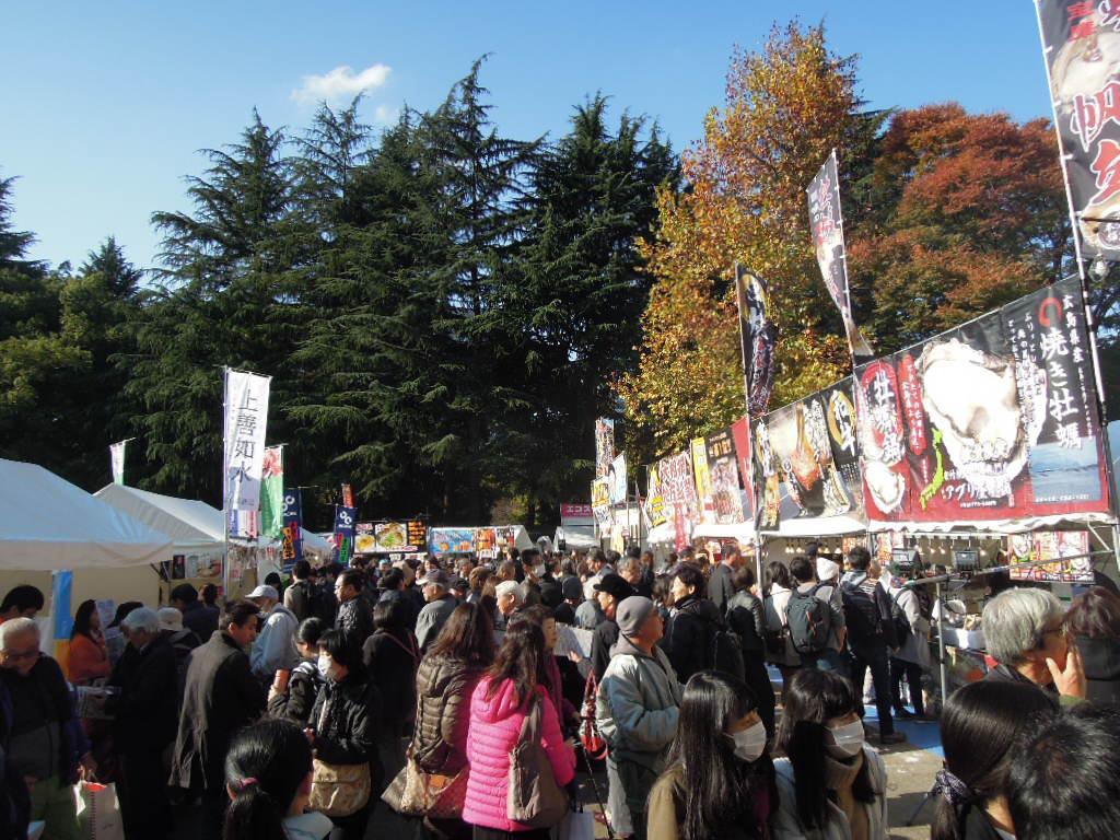 昨年の「ジャパン フィッシャーマンズ フェスティバル」の様子