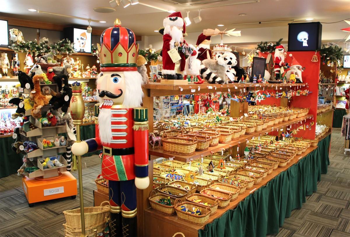 「ハウス・オブ・クリスマス」の会場風景