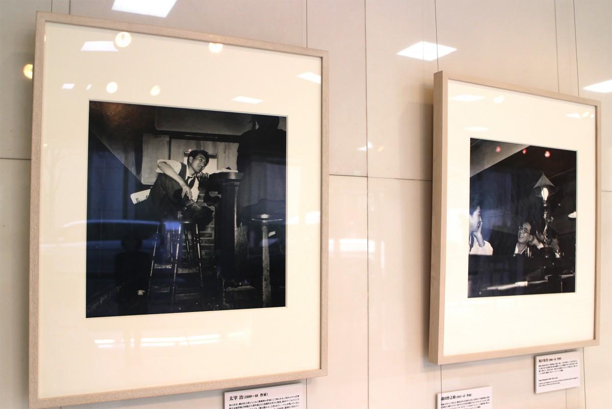 「写真家、林忠彦の銀座 戦後の記憶」の展示風景