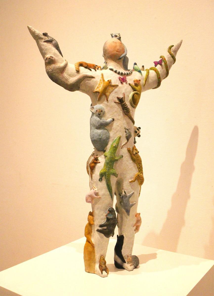 北村奈津子さんの個展「夢ばっかみてる」の展示作品