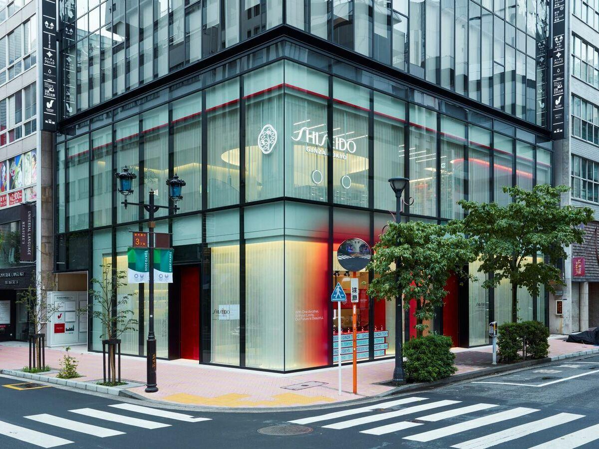 SHISEIDO GLOBAL FLAGSHIP STORE外観