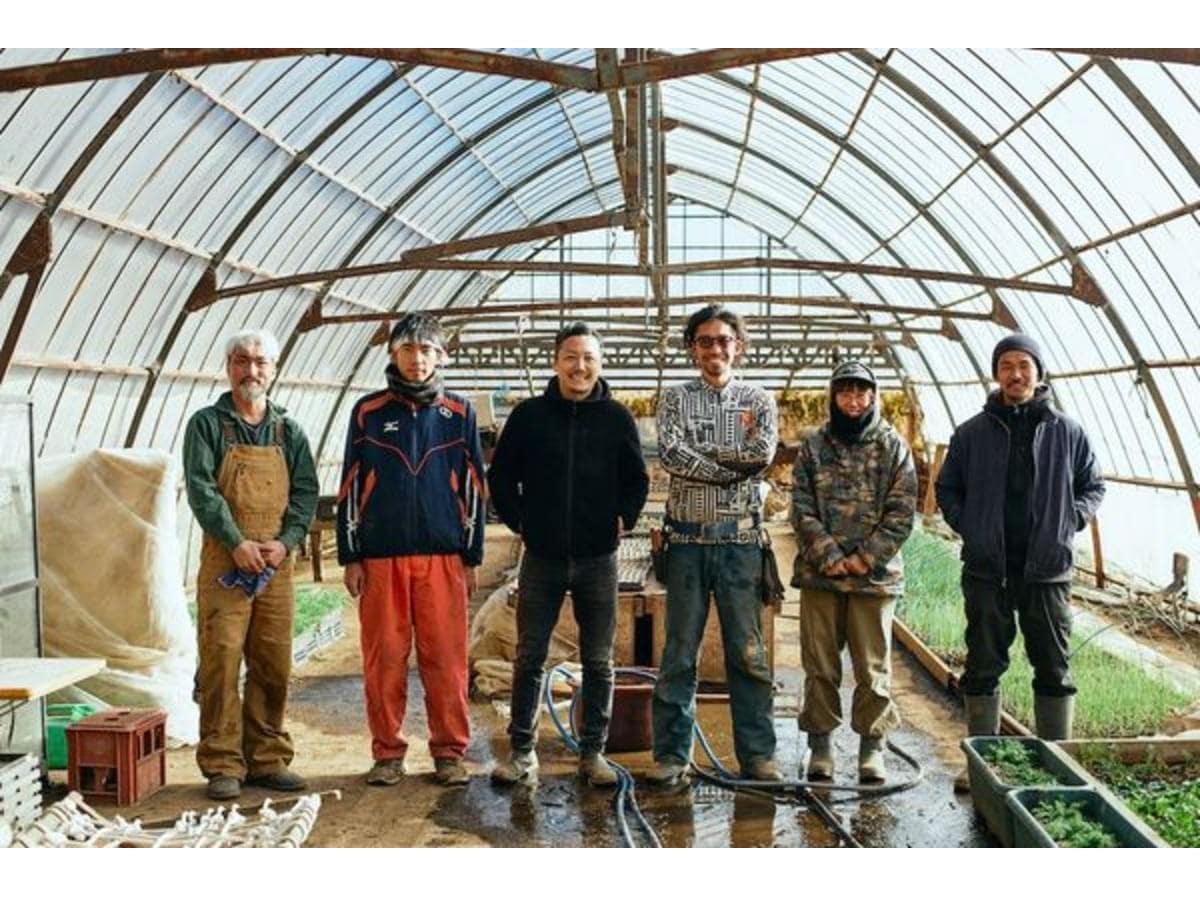 今月参加する東京・青梅の農家「Ome Farm」