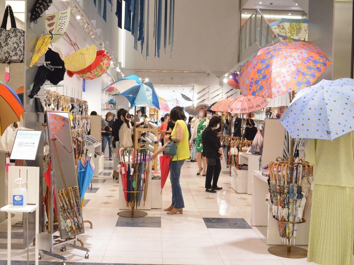 「GINZAの百傘会」会場の様子