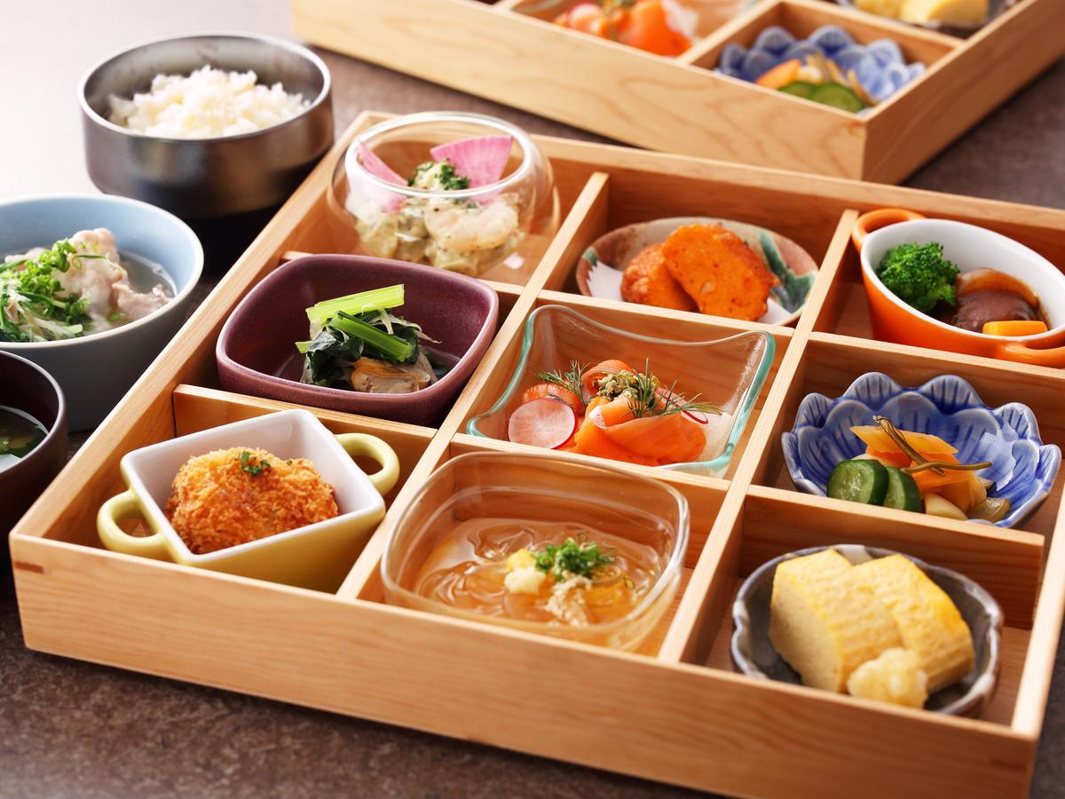 「江戸東京を丸ごと楽しめる」をコンセプトにした朝食