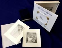 銀座のシロタ画廊で版画作家が作った「本」の展示 8人+1ユニット