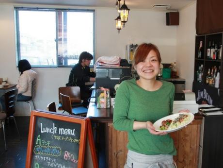 「cafe Beanstalk(カフェ ビーンスターク)」オーナーの高嶋春菜さん