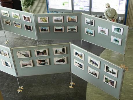 「景観賞受賞作品パネル展」には、歴代の景観賞受賞作品が展示されている