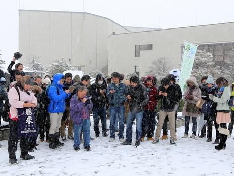 イングレス公式イベント「First Saturday in八戸」には50人が参加した