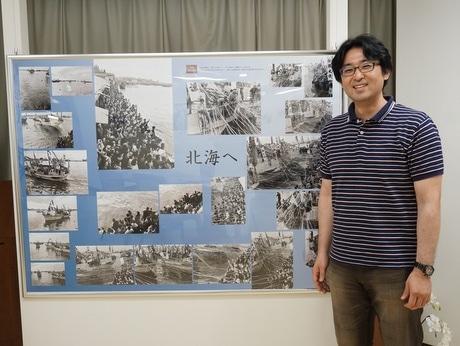同展では昭和30~50年代の同市中心街の街並みの写真を展示する
