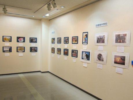 「中学生写真日記展」の様子