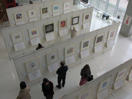 「NHKハート展」の会場風景