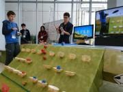 八戸でご当地ロボットコンテスト 蕪島テーマに14チーム参加