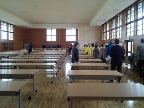 八戸で「八戸高等支援学校」学校見学会 生徒と地域住民との対面も