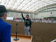八戸で第51回朝野球大会開幕 今年は23チームが参加