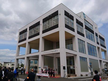 八戸市津波防災センターの外観