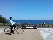 八戸・種差海岸でGPS機能付きレンタサイクル 周辺25カ所を音声で案内