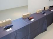 八戸のギャラリーで「有田焼の万華鏡」展 ペンダントタイプや卓上タイプなど展示