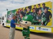 サッカー「ヴァンラーレ八戸」アドトラック運行 東北では初