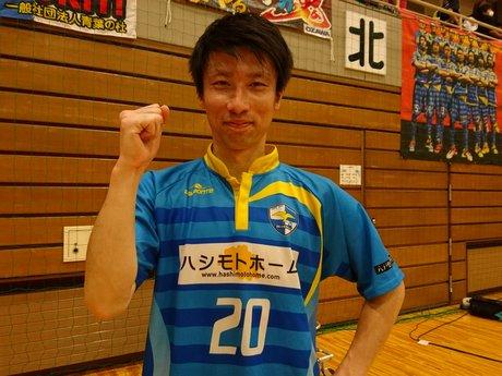 フットサル「イタチカ八戸」5対3でウルティモに勝利 吉岡弘樹選手が4得点の活躍