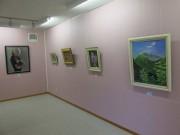 八戸の「小さな美術館 ミモザ」で企画展 油彩画展やちぎり絵展、コンサートも